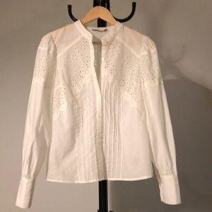Cute white shirt from brand Lush